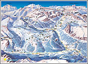 Corvara and Alta Badia piste map link
